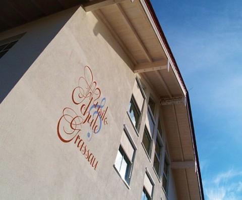 Musikschule Grassau, Außenansicht